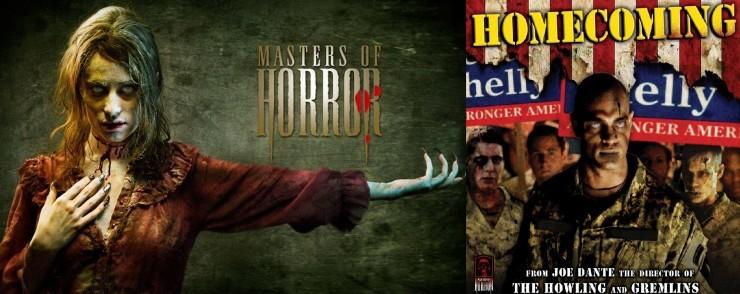series de zombies Masters of Horror