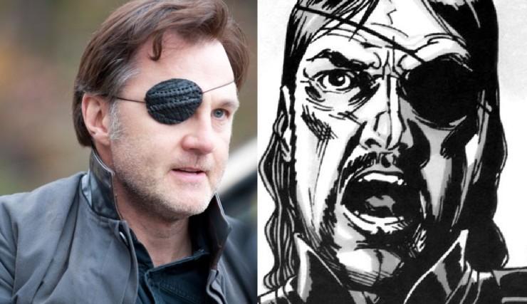 diferencias entre el cómic The Walking Dead y la serie gobernador