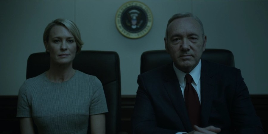 house of cards temporada 4 frank y claire miran a camara
