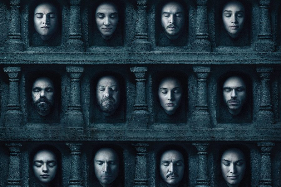 Las series más vistas de 2015 - 2016 game of thrones rating temporada 6