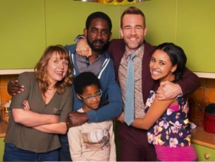 series con James Van Der Beek Carters Get Rich
