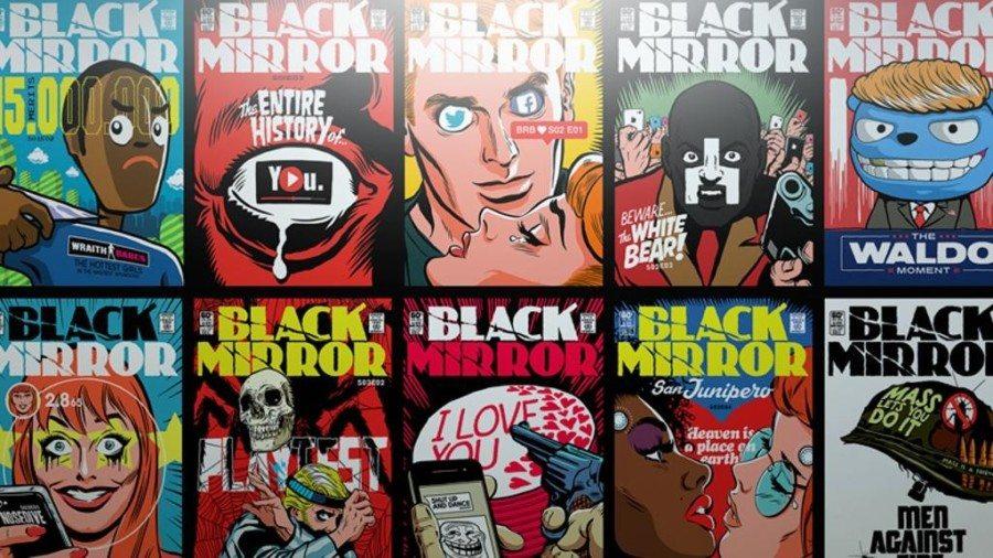black mirror serie antológica