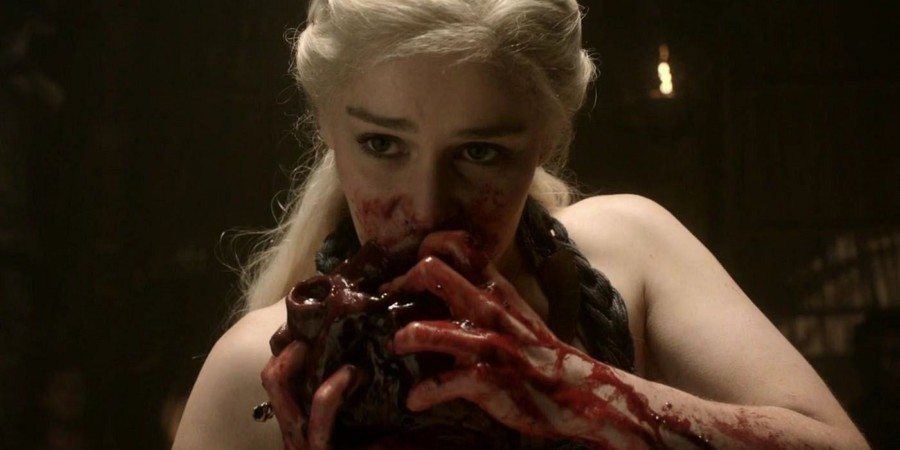 Momentos más bizarros en el set de Game of Thrones