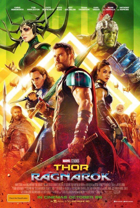 crítica de thor: Ragnarok