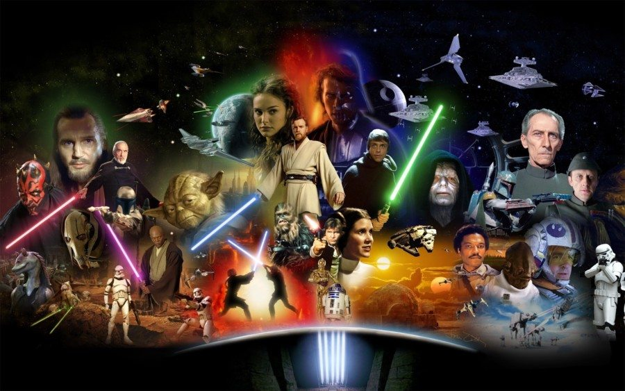 serie de star wars