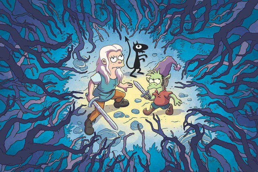 Disenchantment serie de Matt Groening en Netflix
