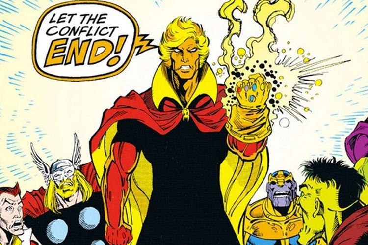 warlock avengers infinity war