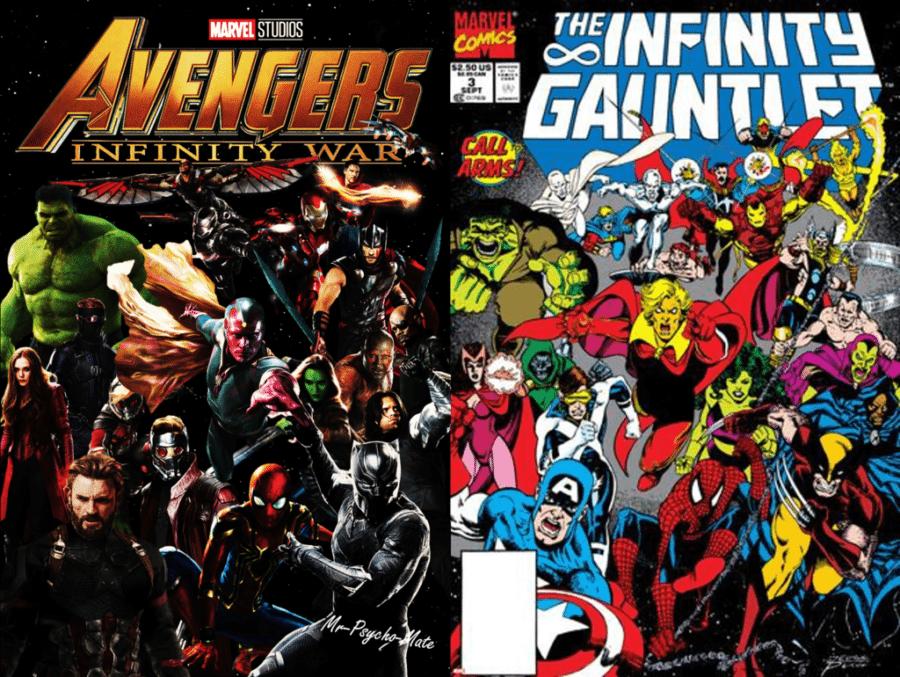 diferencias entre Infinity War y el comic