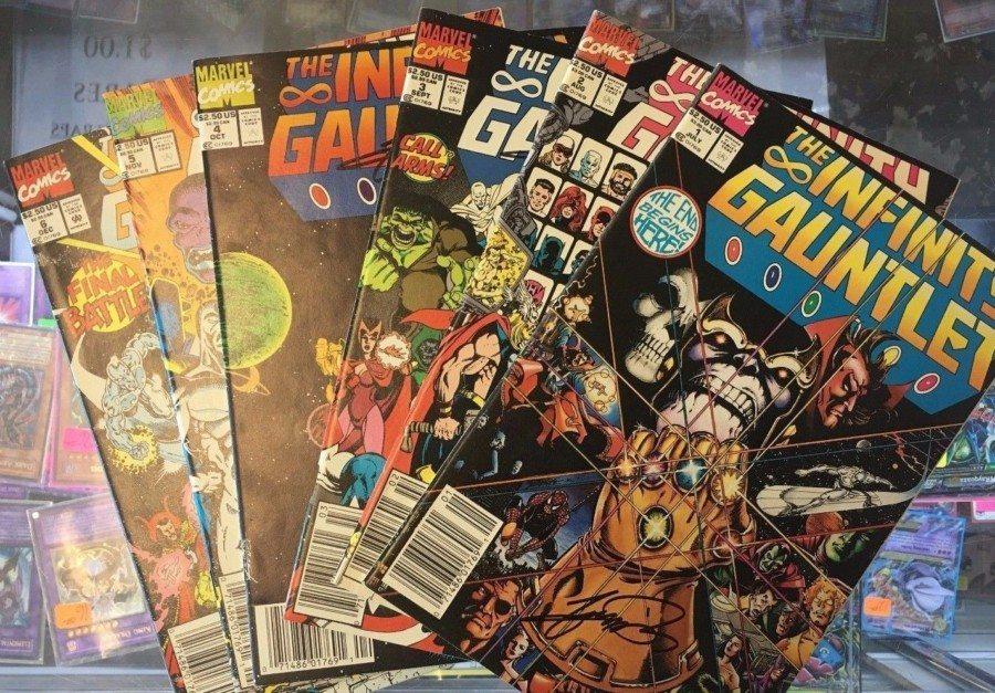 en qué comic se basó avengers infinity war