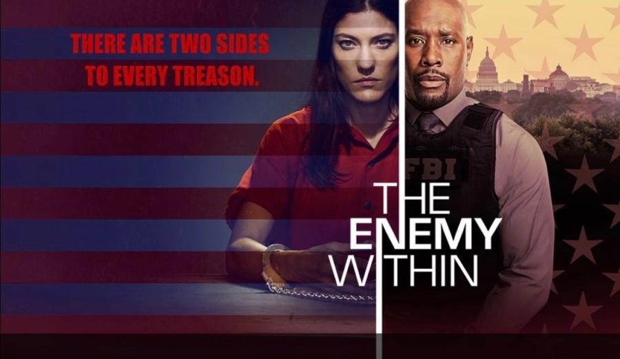 serie The Enemy Within hermana de dexter