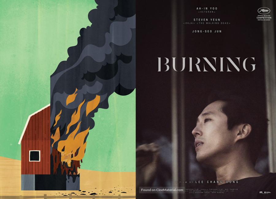 burning película