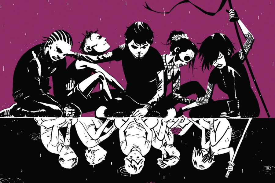 comic y serie deadly class