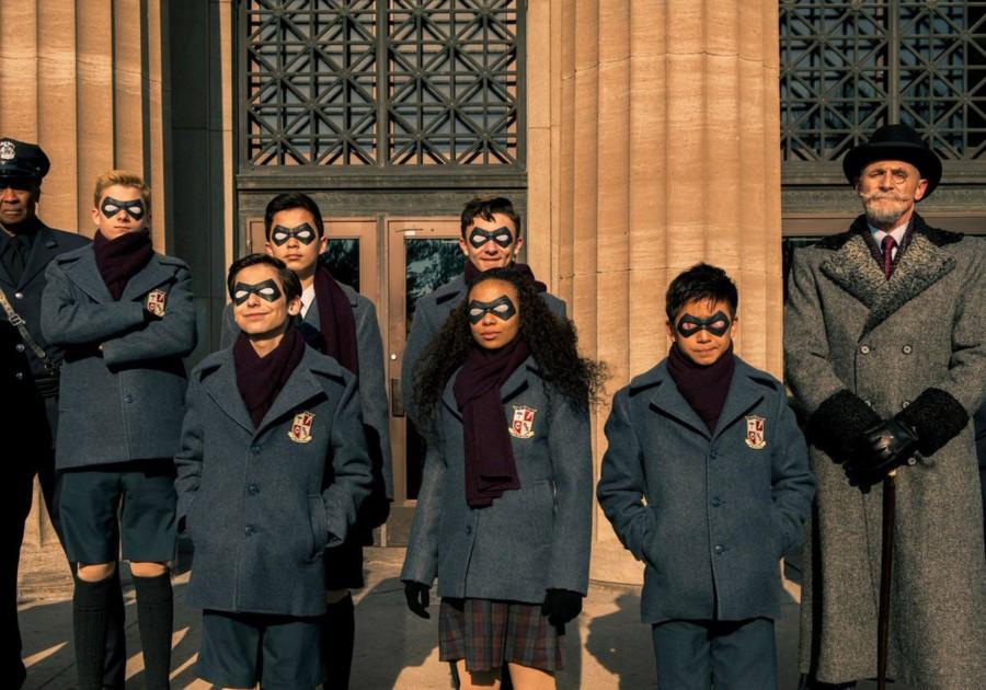serie netflix The Umbrella Academy series que estrenan en febrero de 2019