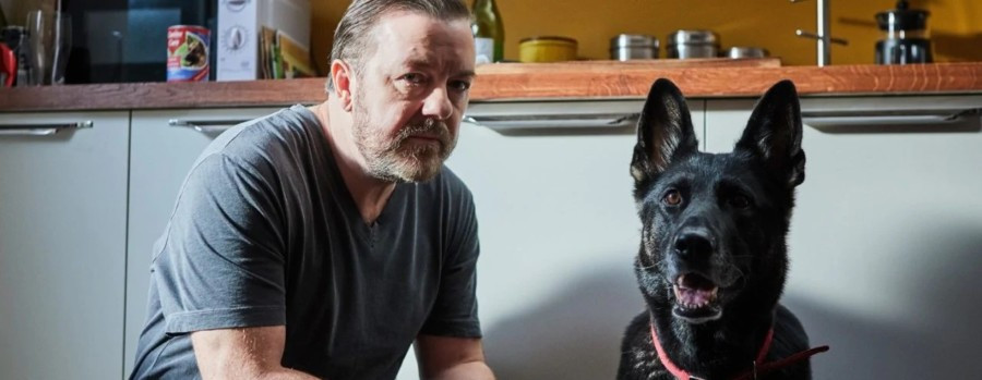 Ricky Gervais after life serie netflix