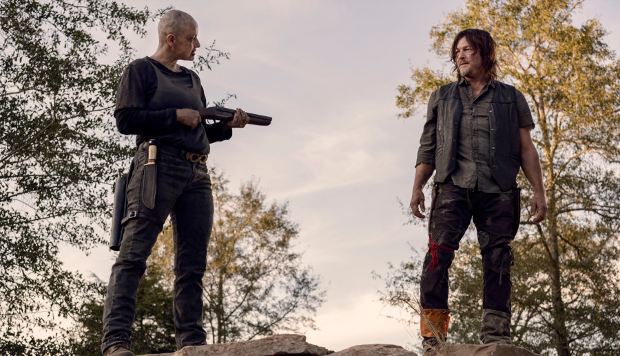 alpha the walking dead comic final de temporada 9