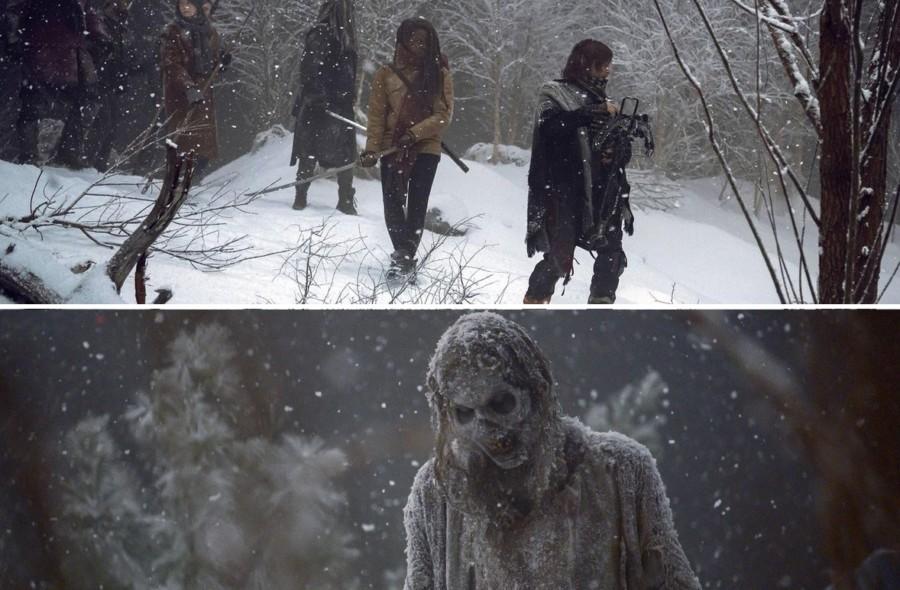 el invierno en the walking dead final de temporada 9