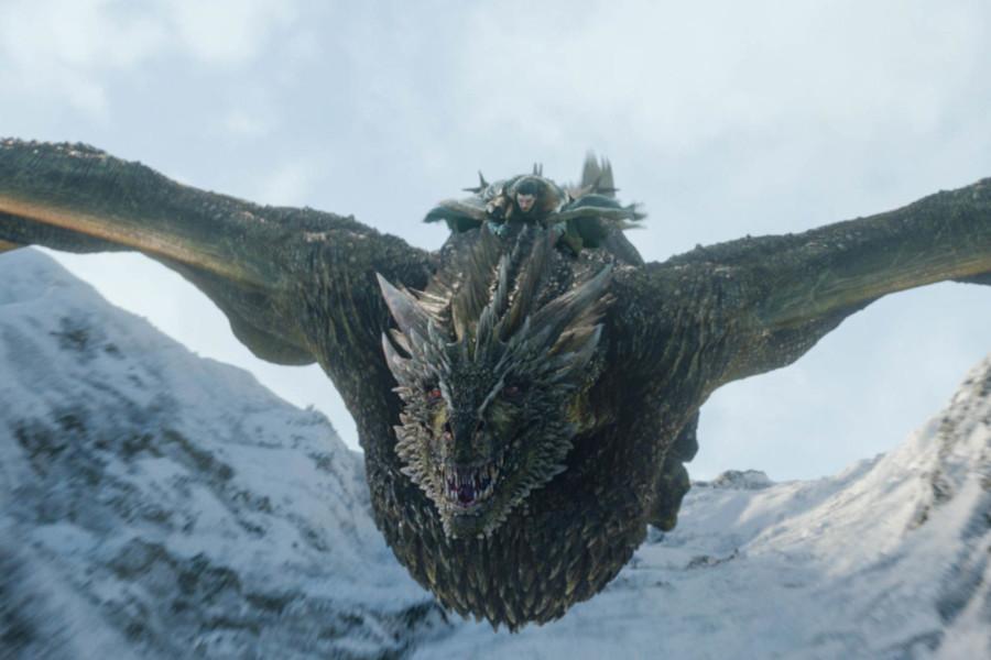 jon snow en dragon kit harington dragon game of thrones