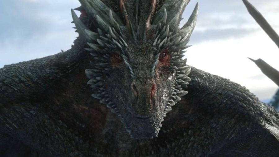dragon mira a jon snow game of thrones 8x01