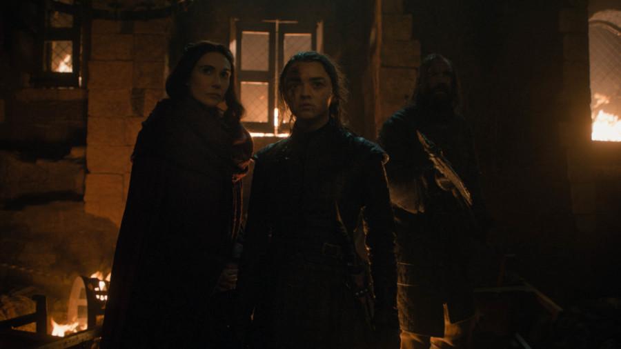 arya stark batalla de winterfell
