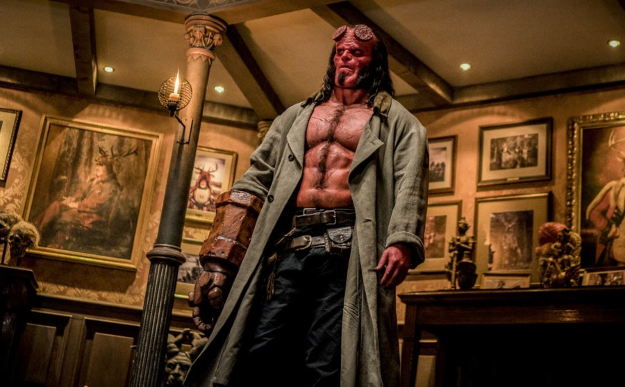 review remake hellboy 2019