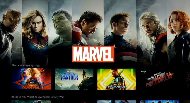 marvel en disney plus series y peliculas
