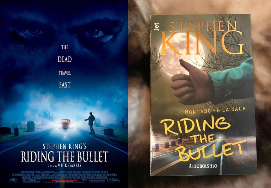 Adaptación vs libro: el caso de Riding the Bullet