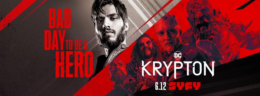 fecha krypton temporada 2 series junio 2019 calendario series 2019