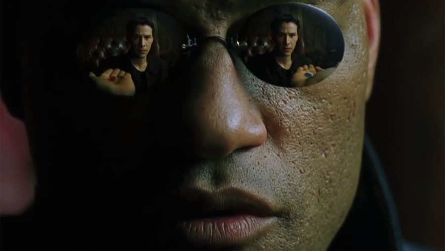 the matrix vuelve pildoras neo