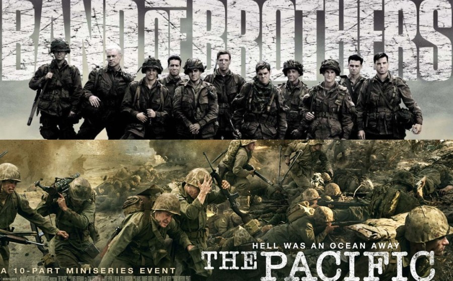 Band of Brothers The Pacific series bélicas hbo