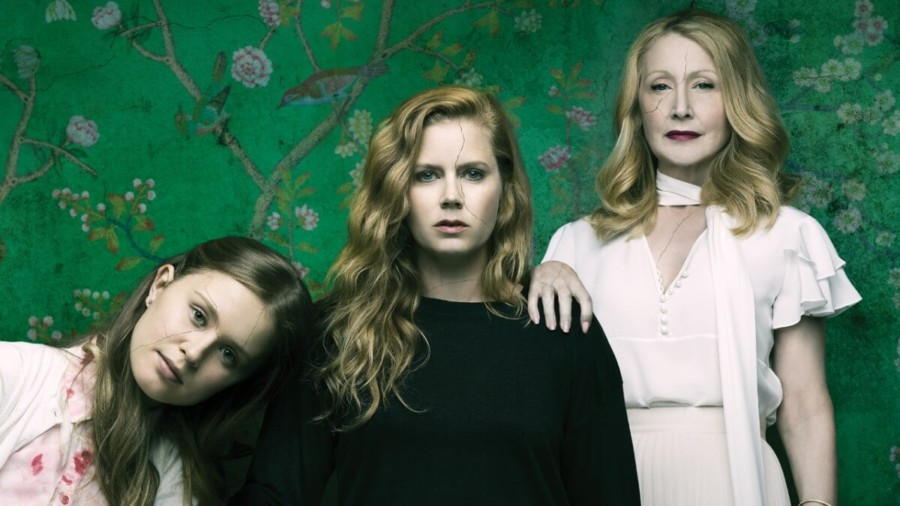 sharp objects ver miniseries